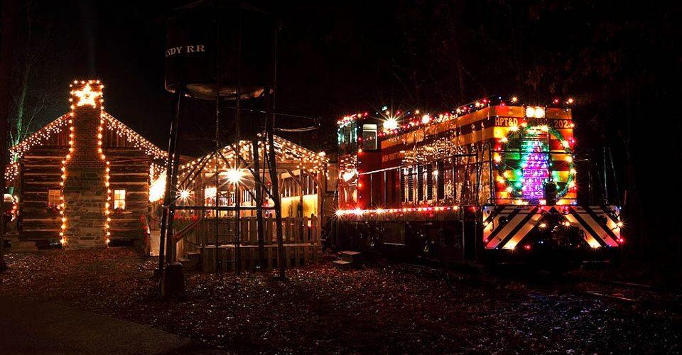 country christmas train